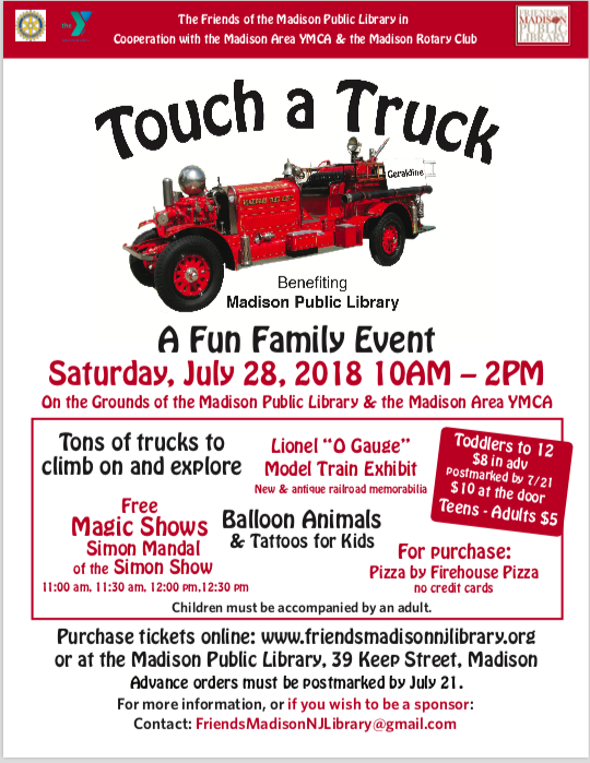 Madisons Central Library Today Heres >> Touch A Truck Friends Of The Madison Public Library